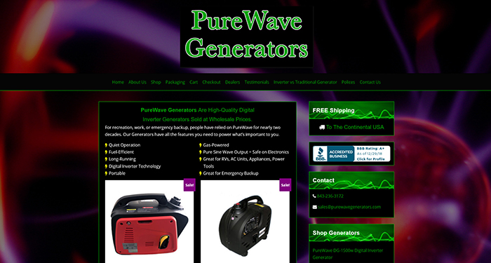 Purewave Generators
