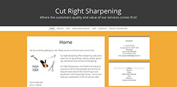 Cut Right Sharpening